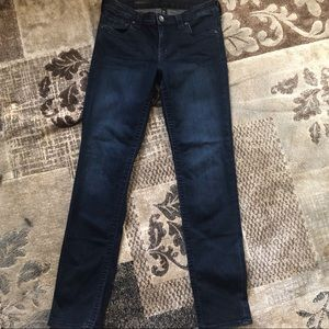 Kut from the Kloth Stevie straight leg size 4 blue